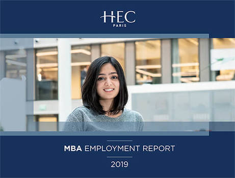 The cover of our 2019 Employment Report features Alumna Preethi Anand