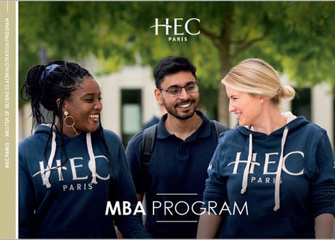 The cover of our 2020 MBA Brochure